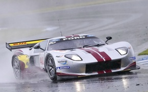 Picture race, speed, track, Ford GT GT3