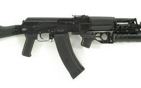 Picture AK-74M, underbarrel grenade launcher, Kalashnikov, Russia