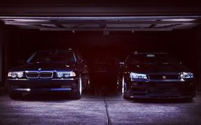 Picture BMW, Boomer, BMW, Nissan, Nissan, GT-R, Skyline, R34, E38, Bimmer, 750il