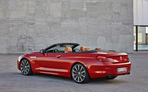 Picture BMW, convertible, 6 series