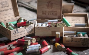 Picture macro, weapons, cartridges