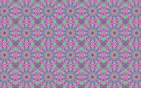 Picture lilac, pattern, symmetry