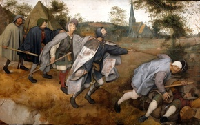 Picture pit, Pieter Bruegel, blind, The parable of the blind