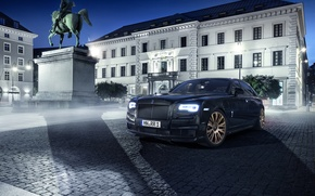 Picture Rolls-Royce, Ghost, rolls-Royce, 2015, Spofec Black One