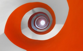 Picture paint, color, spiral, ladder, the volume