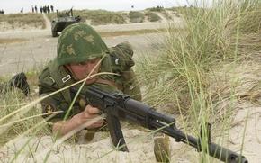 Picture Russia, sea, infantry
