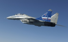 Picture the MiG-35, Fulcrum-F, light fighter