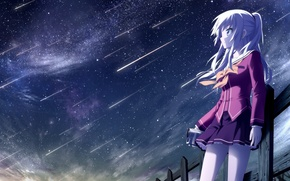 Picture space, anime, beauty, CHARLOTTE