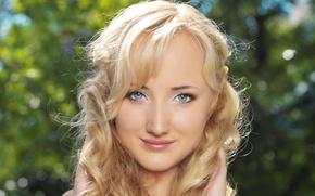Wallpaper girl, smile, model, hair, Zemira A