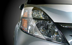 Wallpaper auto, Headlight, glass