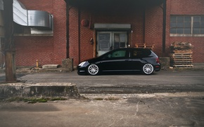 Picture black, Honda, black, Honda, Civic, civici, Type R, body EP3