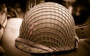 Picture background, mesh, helmet, army