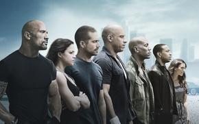 Wallpaper Fast, Boys, Paul Walker, Vin Diesel, Letty, Film, Family, Team, Seven, This, Ludacris, O'Conner, Toretto, ...