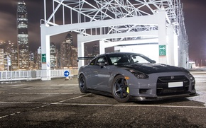 Picture city, nissan, turbo, wheels, japan, jdm, tuning, gtr, front, speed, face, racing, r35, nismo, datsun, …