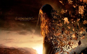 Wallpaper Season of the witch, Season Of The Witch, girl, leaves