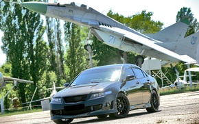 Wallpaper Honda Accord, Road, Machine, The plane