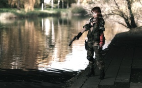 Picture Girl, cosplay, Metal Gear Solid, cosplay, Konami, Kojima Productions, The Phantom Pain, Venom Snake