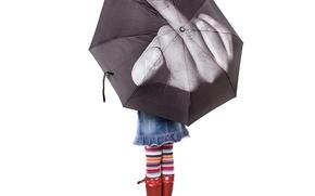 Wallpaper girl, umbrella, vfuck, Lebedev, FAK, fuck