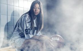 Picture Girl, Sexy, Model, NBA, Women, Basketball, Sport, Fashion