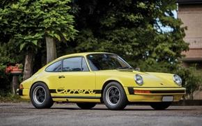 Picture Yellow, 911, Porsche, Retro, Machine, Car, Car, Coupe, Carrera, 2.7, Metallic, 1974-75