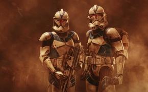 Picture Star Wars, clone, Werner Burgstaller, Imperial stormtroopers