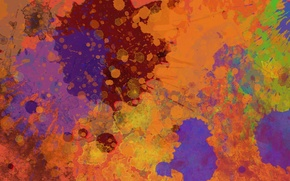 Picture color, squirt, abstraction, paint, colors, splatter, 1920x1080, abstraction