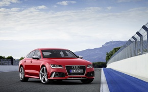 Picture Audi, track, RS7
