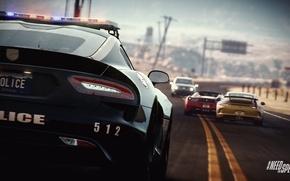 Picture 911, Porsche, Dodge, Viper, Need for Speed, nfs, police, GTS, ferrari 458, 2013, Rivals, NFSR, …