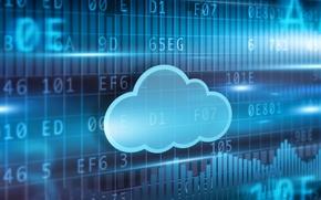 Picture technology, blur, Internet, internet, hi-tech, bokeh, security, service, wallpaper., technology, information, storage, cyberspace, cyberspace, cloud, ...