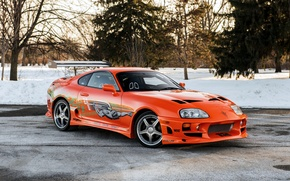 Picture Toyota, Supra, Toyota, supra, the fast and the furious, The Fast and the Furious, 2001