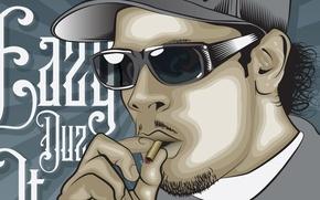 Picture Glasses, Cigarette, Rapper, N.W.A, Eazy‑E