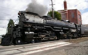Picture Road, Train, Background, Locomotive