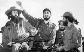 Picture revolution, the rebels, fidel castro