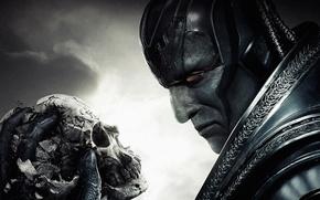 Picture Apocalypse, skull, X-Men, Marvel Comics, Apocalypse