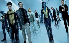 Wallpaper actors, mutants, x-men, X-Men First Class, first class
