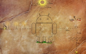 Picture apple, android, dds