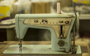Picture rarity, Singer, sewing machine, high technology
