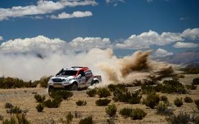 Picture Clouds, Toyota, Hilux, Rally, Dakar, Dakar, Toyota