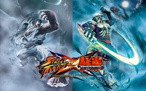 Picture the fight, street fighter, Street Fighter X Tekken, Yoshimitsu, ryu