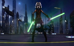 Picture animated series, Star wars: the clone wars, STAR WARS: THE CLONE WARS, Lucasfilm, Ahsoka Tano