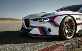 Picture Concept, BMW, Wheel, BMW, Hommage, 3.0, The front, CSL, The curb