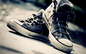 Wallpaper macro, shoes, sneakers, laces