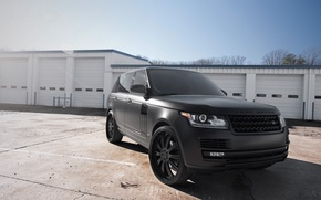 Picture the sky, trees, white, the building, front view, land rover, range rover, range Rover, land …