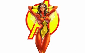 Picture figure, spider-woman, marvel, comic, the Avengers, Avengers