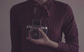 Picture girl, the camera, Irina Joanne