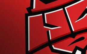Picture Logo, Game, Team, Minimalism, CSGO, Counter-Strike: Global Offensive, CS:GO, HellRaisers, vent designs, Esports