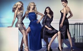 Picture Girls, blonde, model, brunette