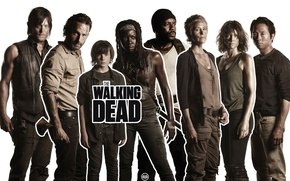 Picture Maggie, Maggie, the series, Carl, The Walking Dead, The walking dead, Michonne, Rick, Carl, Glenn, ...