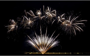 Picture The SKY, NIGHT, SALUTE, LIGHTS, FLASH, SIGHT, PYROTECHNICS