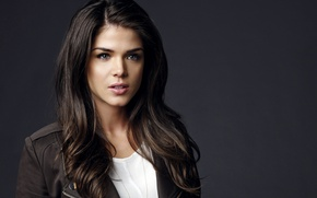 Picture look, girl, face, background, actress, brunette, the series, Marie Avgeropoulos, Maria Avgeropoulos, Hundred, The 100